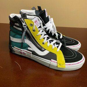 Vans Mens Multicolor 721454 Round Toe Sneaker